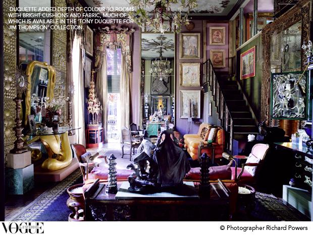 Behind The Scenes Tony Duquette Vogue Living S Blog