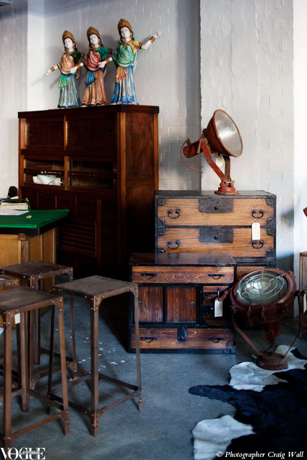 Dr Bombay: Sydney's new globetrotting vintage store | Vogue Living's blog