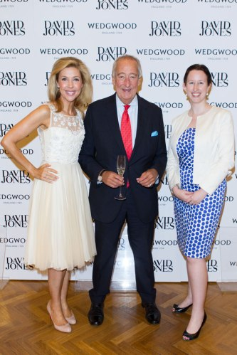 Catriona Rowntree, Lord Wedgwood and Lisa Thomas