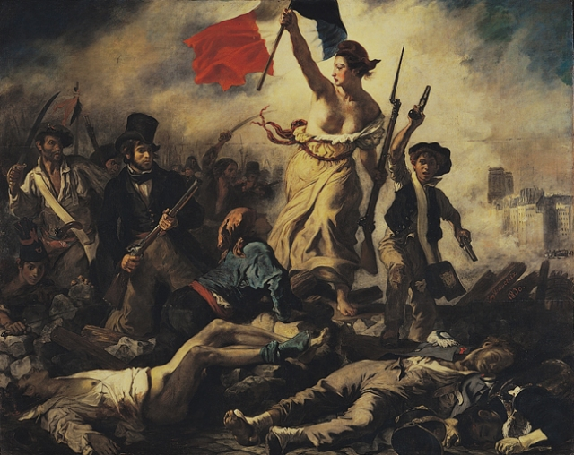 Eugène_Delacroix_-_La_liberté_guidant_le_peuple-3
