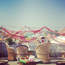 The Grey Garden at Jaipur Literature Festival.