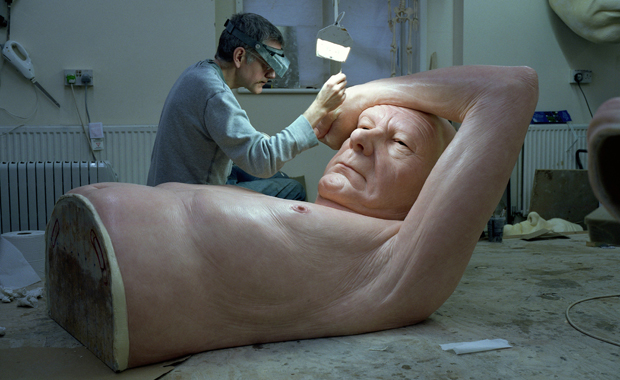 Ron Mueck Old Couple