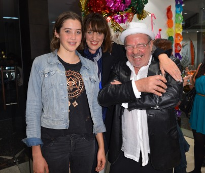 Millie Morton, Megan Morton and James Victoria