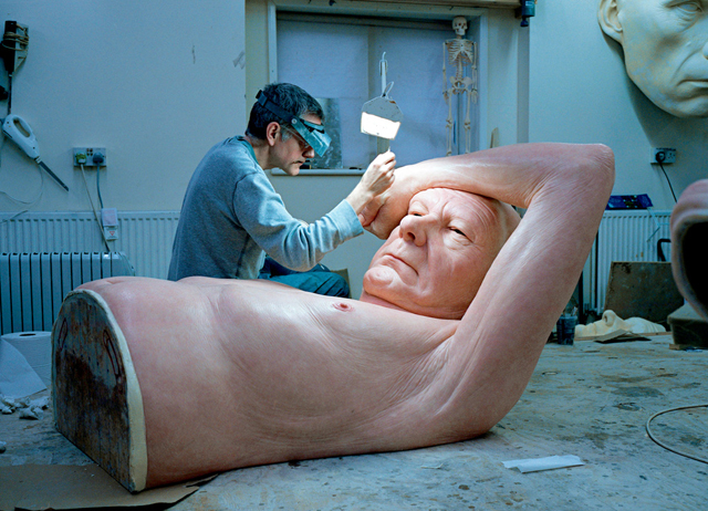 Ron Mueck Old Couple progress