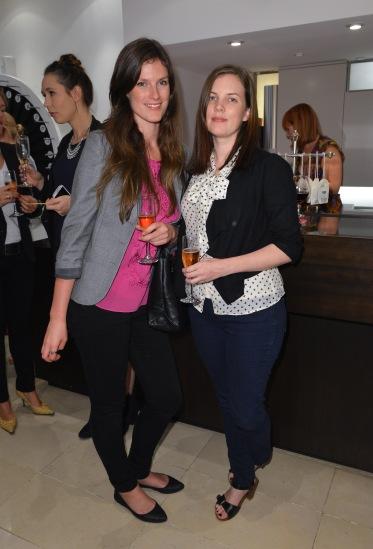 Samantha Van Egmond and Kellie Connolly