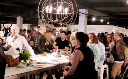 Hundreds attended Coco Republic's Saturday lunch, catered by the renowned Maurice Terzini of Icebergs in Bondi.