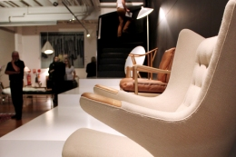 The Hans J. Wegner-designed 'Teddy Bear Chair' by PP Mobler at Cult.