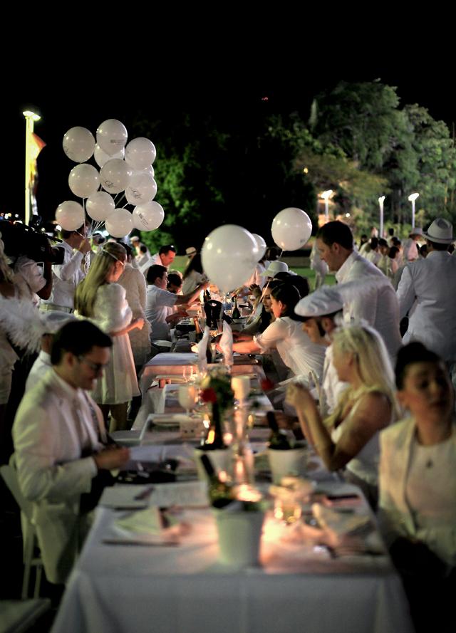 Diner en Blanc Brisbane