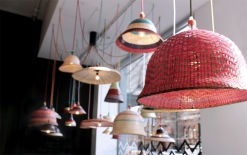 A Milan Design Week favourite, 'PET Lamps' by Alvaro Catalan De Ocon at Spence & Lyda in Surry Hills.